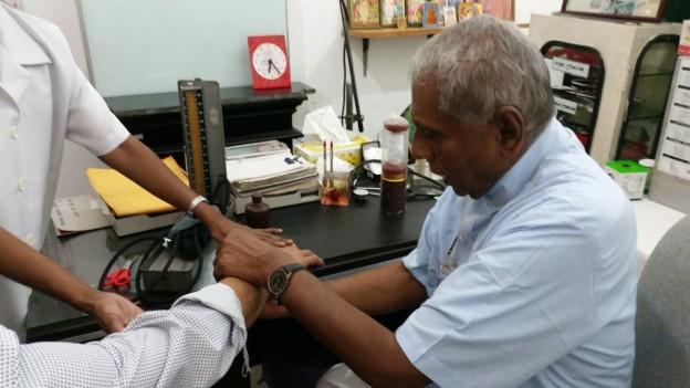 Dr. Tudor Senadheera, Ayurveda Hospital